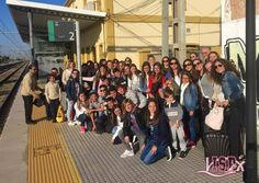 #MadridISP, experiencia formativa y divertida para alumnos de 1º #SecundariaISP que lo han pasado genial. Los papás los reciben con ilusión.