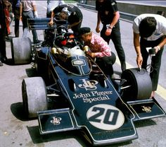 Colin Chapman's Team Lotus won F1 races in the 70's & 80's during the John Player Special era with drivers like Mario Andretti, Ayrton Senna, Emerson Fittapaldi, Nigel Mansel and Ronnie Peterson.