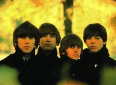 George Harrison, John Lennon, Richard Starkey, and Paul McCartney