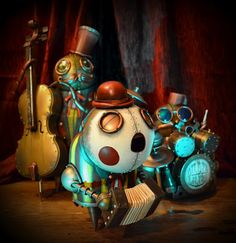 Musicians by Doktor A.