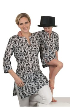 Cotton Mommy and Me CHILDREN'S Tunics