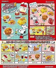 Re-Ment Miniature Peanuts Snoopy American Market Supermarket Full set of 8 pcs