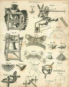 1802 Mechanics Water Mills Windmills Grinding Wheels Axles Copperplate from an Encyclopediac Compendium of Georgian Era Treatises, published in 1802 Mechanical Engineering Design, Marble Machine, Natural Philosophy, Wallpaper Nature Flowers, Safety Posters, Water Mill, Simple Machines, Sun And Water, Old Tools