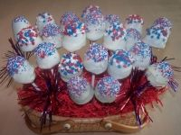 4th Of July Lolly Cake Basket