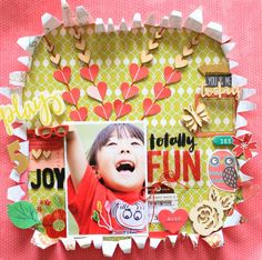 My second layout for Colorful Creations😃 This challenge is a word challenge and I chose the word JOY! Visit the challenge blog for more details❤  Colorful Creations 2つめのレイアウトは、言葉のチャレンジ🎵 私は「喜び」を選びました!詳しくは、チャレンジサイトやブログを見てね❗ Challenge Site : http://anothercolorfulcreation.blogspot.jp/2017/02/february-mid-month-challenge.html My Blog : http://natsukoslittlecraftroom.blogspot.jp/2017/02/totally-fun-dt-work.html