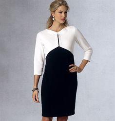 Patron de robe - Vogue 1431