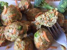 Ala'Antkowe BLW » Pieczone kotlety mielone z warzywami Meat, Chicken, Ethnic Recipes, Food, Essen, Meals, Yemek, Eten, Cubs