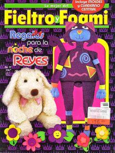 Revistas de Foamy gratis: Revista de manualidades gratis foami y fieltro