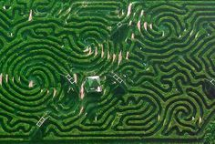 I've had a fascination with garden mazes since I was a little kid.