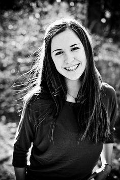 black and white, happy.