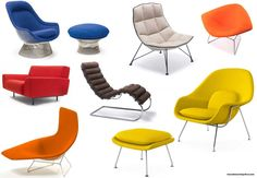 Sitting Rather With Knoll's Modern Lounge Chairs - http://www.housedecorating-ideas.com/sitting-rather-with-knolls-modern-lounge-chairs.html