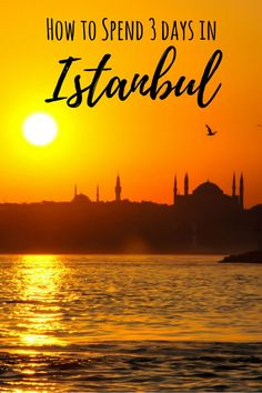Istanbul Skyline with Sultanahmet Mosque - How to Spend 3 Days in Istanbul Itinerary, Turkey Tokyo Japan Travel, Japan Travel Tips, China Travel, Bali Travel, European Destination, European Travel, Best Vacations, Vacation Destinations, Dubai
