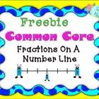 FREEBIE...Plotting a fraction on a number line can be difficult for most students. This freebie gives your students quick practice with that skill and is ali...
