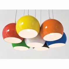 multi colour chandelier lamp