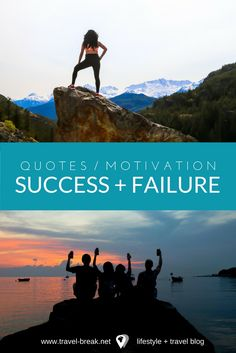 Quotes, articles and motivation on success and failure from the travel blog: Travel-Break.net