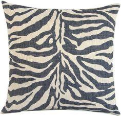 UNIQU Zebar Linen Cloth Pillow Cover Cushion Case 18 ** Click image to review more details.