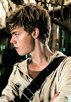 thomas brodie sangster as newt in the maze runner repin & like. listen to…