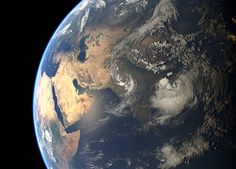 Cyclone Komen Approaching Bangladesh As Seen From Space - SpaceRef
