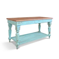 The Layla Belle Kitchen Island/Work Table is a true reproduction inspired by Old New Orleans Farmhouse tables found in typical French quarters Furniture Care, Solid Wood Furniture, Furniture Making, Funky Furniture, Classic Furniture, Furniture Ideas, Farmhouse Table, Farmhouse Decor, Farmhouse Plans