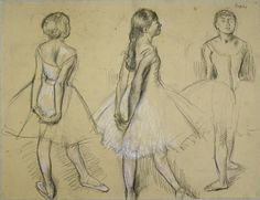Degas - Three-Studies-of-a-Dancer