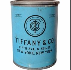 Tiffany packaging from the 1920's.