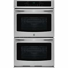 "Kenmore 49443 30"" Double Electric Wall Oven w/Select Clean® - Stainless Steel"