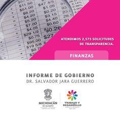 #InformeMichoacán2015 Hemos logrado notables avances en transparencia de la administración pública