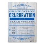 Graduation Celebration Flip It Graduation Announcement Invitation