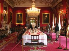 The dining room at Chatsworth on Flickr