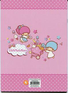 【2012】B5 Notebook (Manufacturer: ELLON Hong Kong) ★Little Twin Stars★