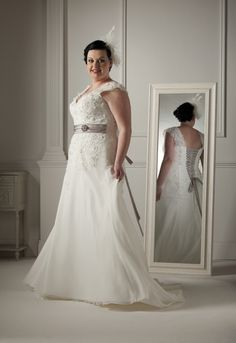 New addition to our Plus-size 'Curvy Girl' collection 'Bernadette'