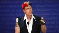 Mitt Romney Adopts New 'Ronnie Ferocious' Persona For Debates   The Onion - America's Finest News Source