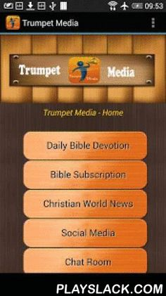 Trumpet Media  Android App - playslack.com , Read Daily Bible Devotion and Christian news from Trumpet Media app. Daily international news is reported in realtime. Bible devotion by James Taiwo distributed offers sound bible doctrines and principles which apply to both Christians and non-Christians. Christians of all denominations can benefit from devotionals that focus on pure biblical principles. Trumpet Media app analyzes how both Old and New Testaments of the bible benefit our daily…