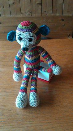 cheky monkey from just crochet