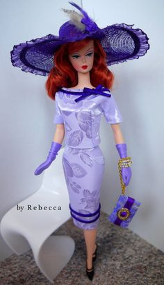 OOAK Fashion for Silkstone Barbie and FR by by rebeccafashion, $70.00
