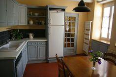 La cuisine gris de su de mur anis deco pinterest cuisine - Renover sa cuisine soi meme ...