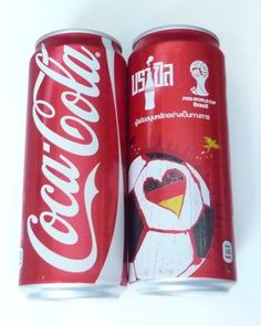 COCA COLA Coke Can THAILAND 325ml FIFA World Cup BRAZIL Collect GERMANY 2014  | eBay