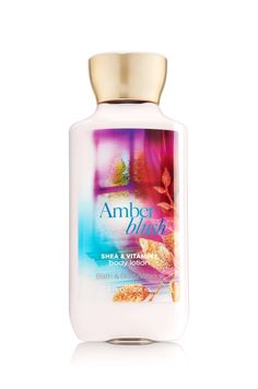 Amber Blush Body Lotion - Signature Collection - Bath & Body Works