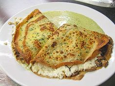 Italian Pancakes (Crespelle with Ricotta) Best Pancake Recipe, Pancake Recipes, Ricotta, Savory Pancakes, Crepes, Pizza, Cooking, Ethnic Recipes, Food
