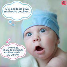 ¿Qué preguntas les hacen sus bebés? #HumorMIB #Bebés #AmorChiquito