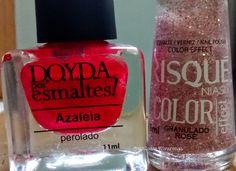 Cintillante Alvarenga: Combinação de esmaltes...