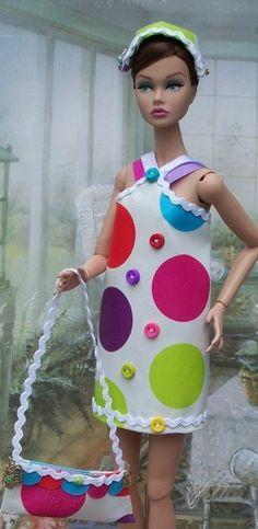 OOAK Doll Fashion Design by Karen glammourdoll