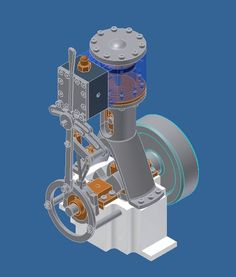 Picture of Small Steam/Air engine