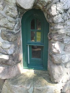 On one of the outbuildings at Boldt Castle