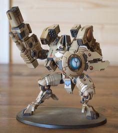 WH40K Tau Riptide painted in Toys & Games, Wargames & Role-Playing, Warhammer | eBay