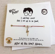 Harry Potter Wish Bracelet