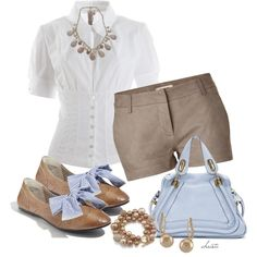 """Summer Oxfords"" by christa72 on Polyvore"