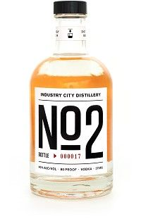 "Bowery & Vine Industry City Distillery Vodka ""No 2"""