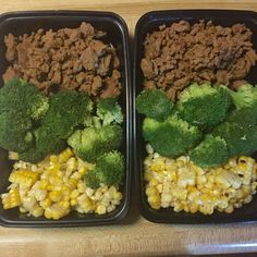 #mealprep 💥💥292 calories. 10.fat/27.carb/25.protein/5.fiber💥💥 🔹4oz Jenny O taco seasoned ground turkey. 🔹100grams steamed broccoli. 🔹Corn from one Cobb (grilled then cut the kernels off) 💪😄💪😄💪😄💪😄💪😄💪 #mealprep#bodybuilding#gains#healthy#fitfam#macros#macronutrients#fitspo#shredded#pump#eatclean#trainmean#foodprep#gainz#hardwork#weightlifting#strength#discipline#instafit#biceps#gymflow#gymlife#swole#swolfie#dedication#chicksthatlift#motivation#gymmotivation
