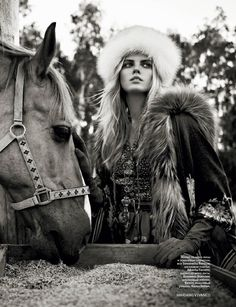 models in furs - Google Search